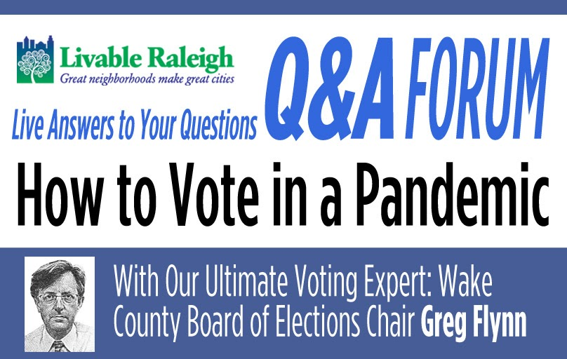 How to Vote in a Pandemic – LIVE Q&A Forum