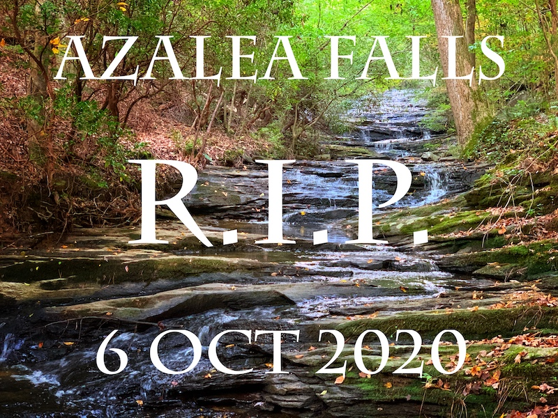 Council Justifies Destroying Azalea Falls with a Tangled Web of Deceptions, Distortions and Glaring Omissions
