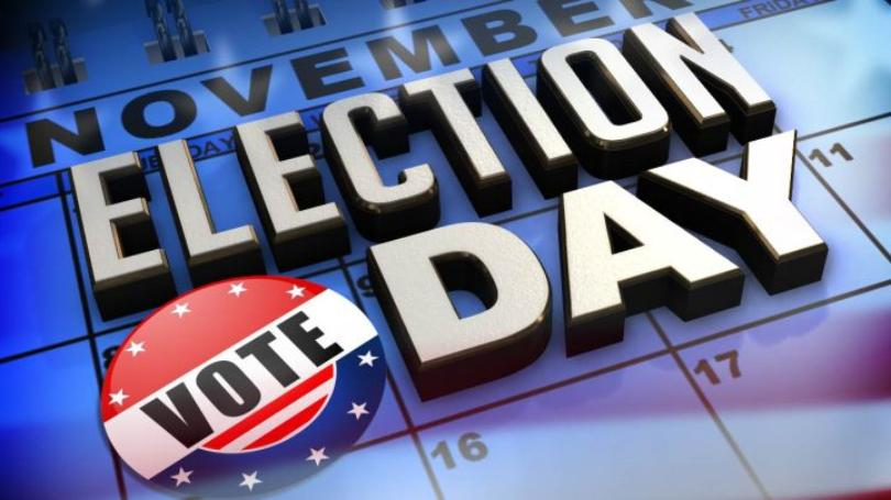 Important Announcement – Election Day – Tues Nov 3