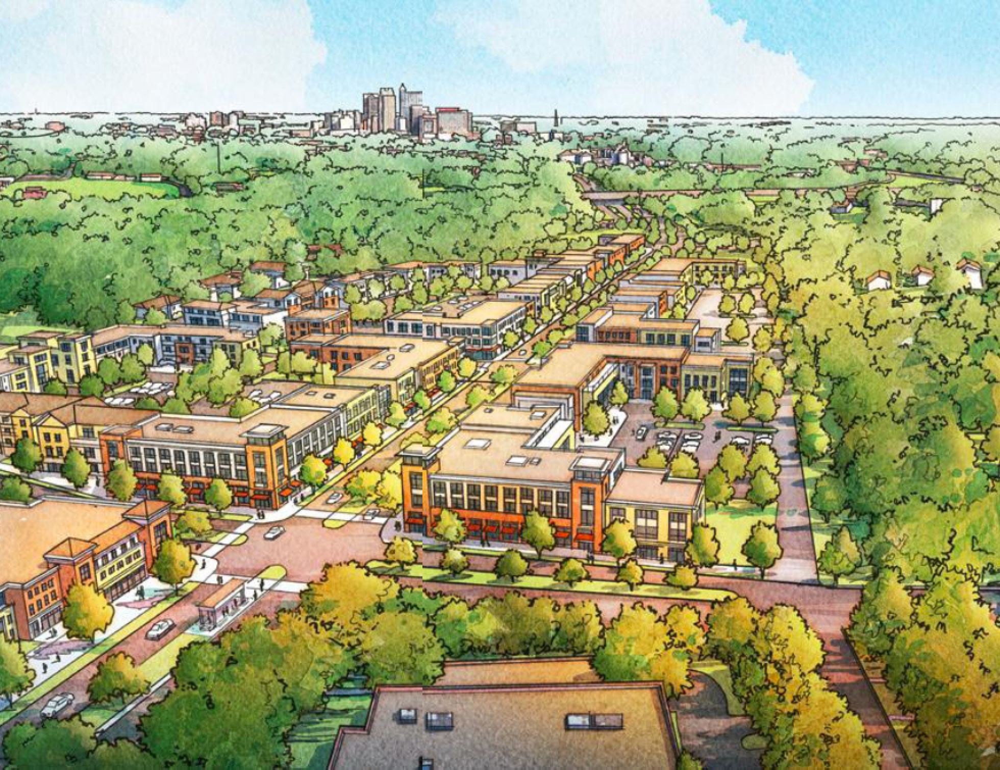 At Kane site in South Raleigh, residents choose a new neighborhood over a 2nd Downtown