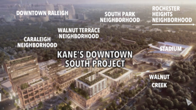 Livable Raleigh's Call To Action on Kane's Downtown South Project