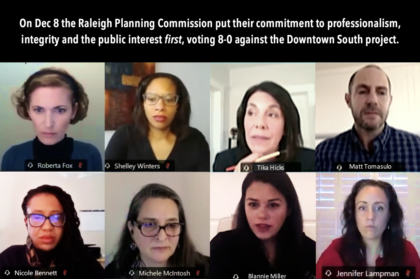 CALL TO ACTION – DOWNTOWN SOUTH