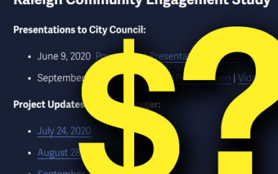 Lack of Progress and Accountability in Raleigh's Community Engagement Project