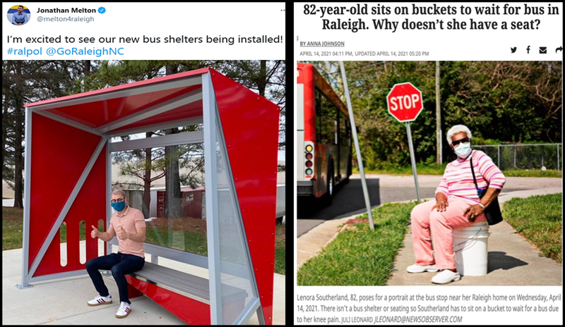 Budget Busting Bus Shelters