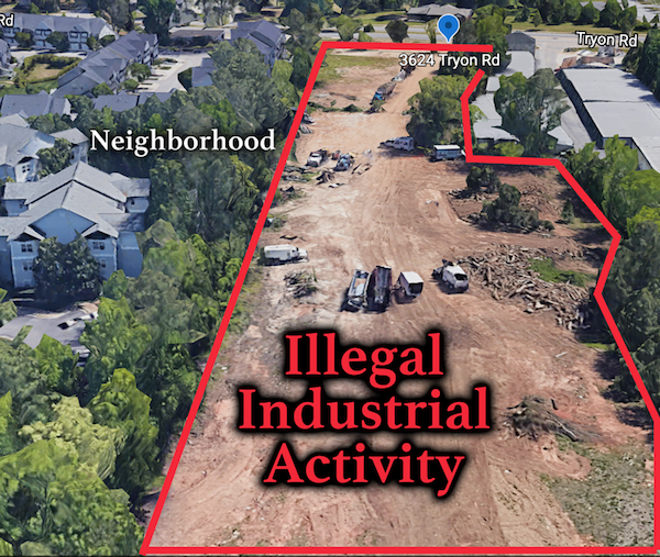 Will Council Reward this Illegal Industrial Attack on our Environment and Neighborhoods?