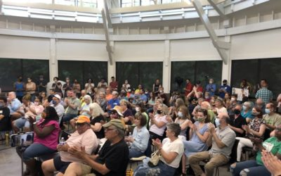 Overflow crowd kicks off Livable Raleigh's campaign to recall Mayor Mary-Ann Baldwin