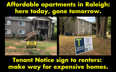Notice to Renters: Make Way for Expensive Homes.