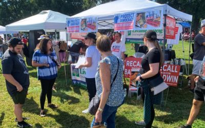 Successful event at Falling for Local at DIX Park